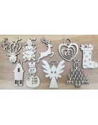 Artistic sculptures, christmas decorations